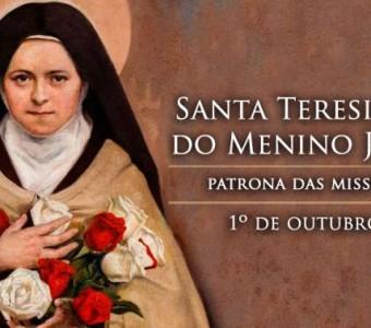 Hoje é celebrado o dia de Santa Teresinha do Menino Jesus, doutora da Igreja